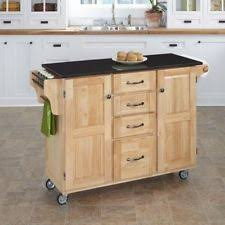 Kitchen Island Black Granite Top Wood Black Granite Top Kitchen Island Cart Large Drawer