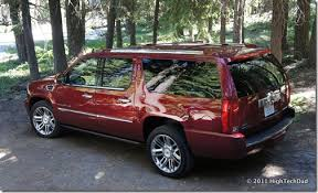 2011 cadillac escalade platinum edition esv really stands for entertainment system vehicle 2011