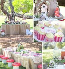 kara u0027s party ideas woodland fairy birthday party ideas decor cake