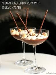 martini baileys baileys chocolate pots with baileys cream cherished by me