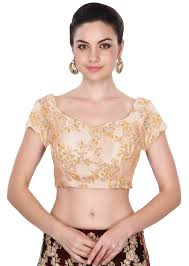 blouse for fabron sleeves beige colored embroidered blouse for