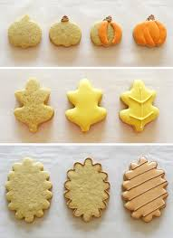fall decorated cookies step by step learning