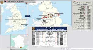 Nottingham England Map by 2017 18 Premier League 1st Division England Including Wales