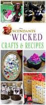 20 wicked disney descendants crafts and recipes glitter u0027n spice