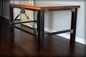 Modern Industrial Desk by Industrial Desk U2013 Dm Urban Industrial Works