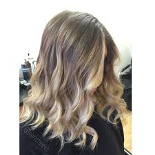 ombré for short hair blonde highlights and long bob haircut for
