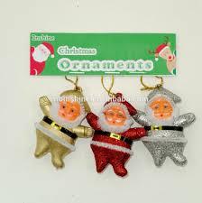 6cm styrofoam christmas santa ornaments hanging nativity christmas