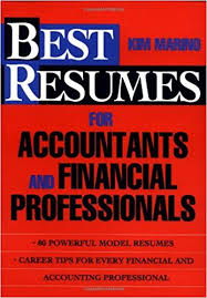Best Resumes by Best Resumes For Accountants And Financial Professionals