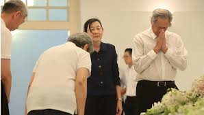 sultan hassanal bolkiah wives mr lee kuan yew u0027s body comes to rest at istana for private family