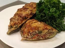 cuisiner une aubergine aubergines farcies au quinoa papa en cuisine