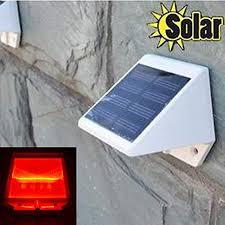 kssfire outdoor solar power lights 4 led stair lights wall garden