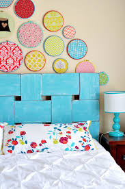 bedroom decorating ideas diy the 47 best diy headboard ideas for 2017