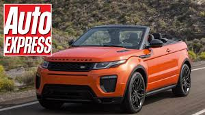 land rover convertible blue new range rover evoque convertible first look at the 2016 drop