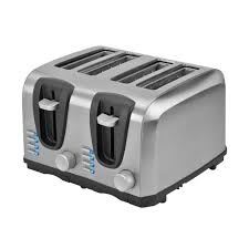 Cuisinart Toaster 4 Slice Stainless Cuisinart Stainless Steel Artisan Bread Toaster Cpt 2400 The