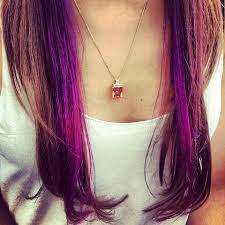 highlights underneath hair purple hair color ideas hair world magazine