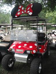 private decorated cart fort wilderness campground so cute and