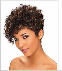hairstyles for naturally curly hair short haircut color ideas
