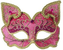 fancy masquerade masks forum fancy cat style venetian 1 2 mask pink gold one