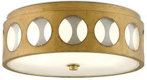mid century flush mount lighting century brass flush mount