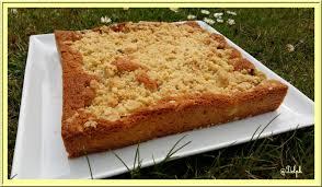soulef cuisine gâteau streusel à la rhubarbe oh la gourmande