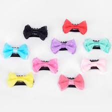 baby hair clip 8pcs mixed ribbon hair snaps for kids baby hair