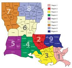 State Of Jefferson Map About Ldh Department Of Health State Of Louisiana