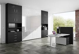 Wall Cabinets For Home Office Home Office Wall Cabinets With Natural Brown Color Ideas Home