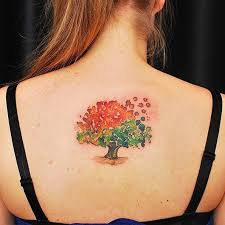 45 insanely gorgeous tree tattoos on back feedpuzzle
