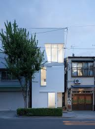 narrow lot family house plan inspiration from japan home