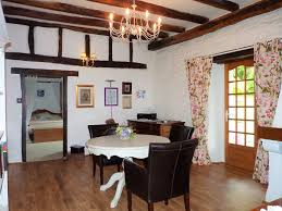 Landes Dining Room Beautifully Renovated Landaise Farmhouse With Swimming Pool And