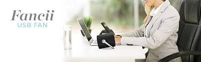 Small Table Fan Souq Amazon Com Fancii Small Personal Desk Usb Fan Portable Mini
