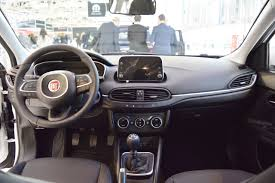 volvo hatchback interior fiat tipo hatchback interior dashboard at 2016 bologna motor show