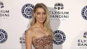 Heard Amber Heard 2017 Heaven Gala Youtube