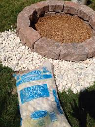 Fire Pit Rocks by How To Make A Diy Fire Pit Snapguide