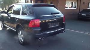 porsche carma porsche cayenne s exhaust sound x pipe youtube
