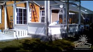how to build a sunroom building a sunroom before after time lapse