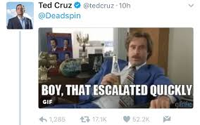 Ted Cruz Memes - ted cruz stepping up his twitter game album on imgur