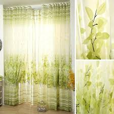 Botanical Shower Curtains Lime Green Shower Curtain Panel Shower Curtains