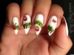diy nail art u0027the very hungry caterpillar u0027 inspired manicure