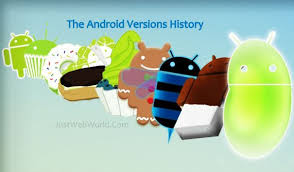 android history the android versions history cupcake to kitkat