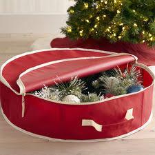 Decorated Christmas Tree Storage Bag by Christmas Tree Storage Decoration U0026 Wreath Storage Pier1 Com