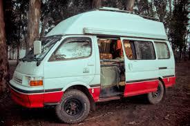 toyota hiace modified hiace hobo living in a toyota camper van the hiace