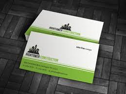 Business Card For Construction Company Free Construction Business Cards Templates Backstorysports Com