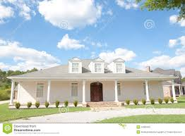 american home southern style upscale home royalty free stock