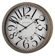 amazon com bulova westwood wall clock home u0026 kitchen