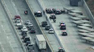 Sigalert Com Los Angeles Traffic Map by Man In Custody Following Hour Long Closure Of 710 Freeway In East