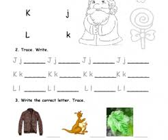 practice alphabet practice jkl