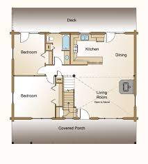 bedroom log home plan real log style open small house floor plans