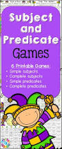 best 25 subject and predicate games ideas on pinterest subject