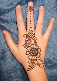so beautiful back of the hand henna tattoo design styles time